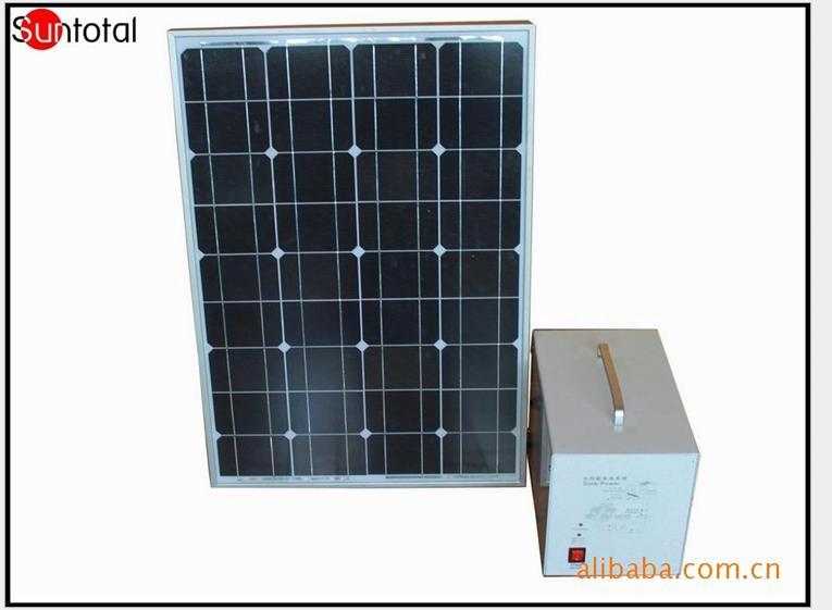 供应50w家用太阳能发电系统装置